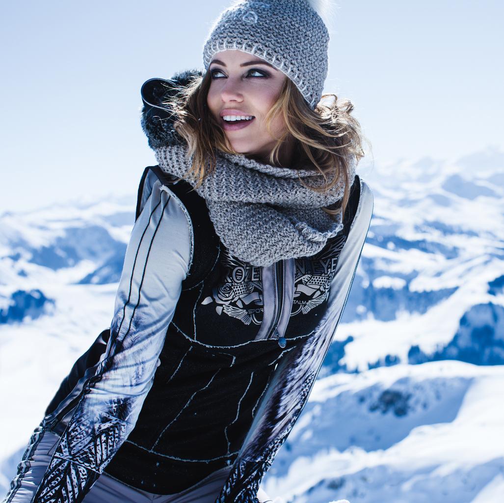 Armanda Barten Photo Shoot For Label Sportalm Models By